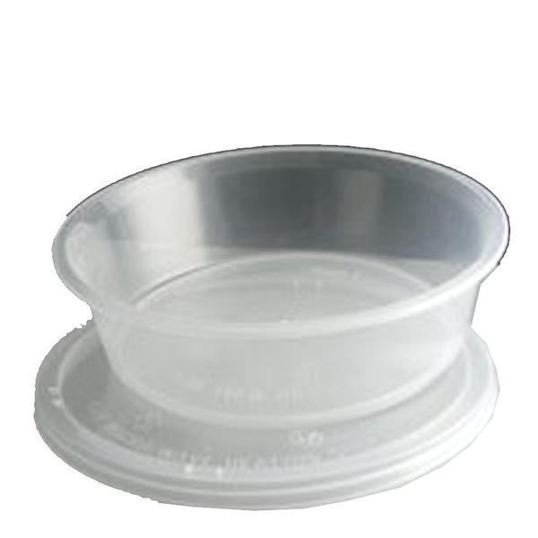 250 gr Plastic Soup Container Microwavable